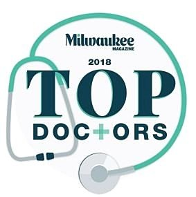 2018 Milwaukee Top Doctors logo